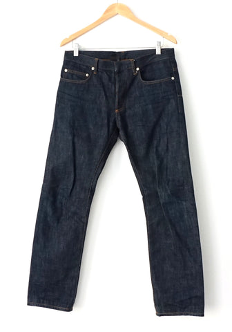 Dior Raw Blue Jeans Slim Fit