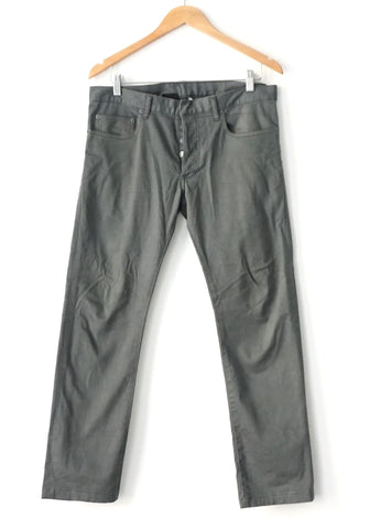 Dior Green Grey Khakis