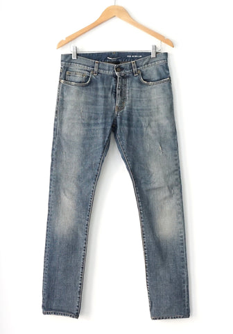 Saint Laurent Blue Jeans Washed