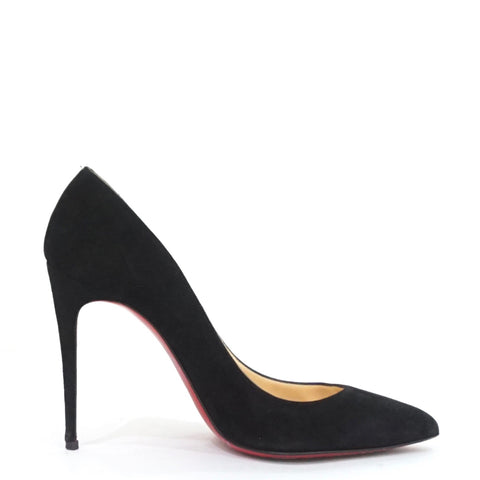 best website ce76e defcb Christian Louboutin Pigalle Follies 100 Black Suede 37