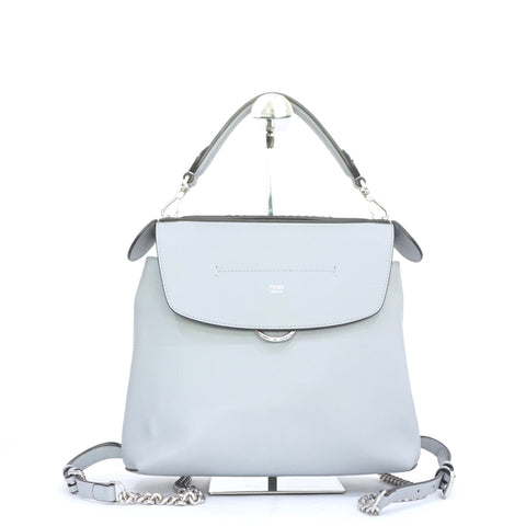 Fendi Blue-Gray Back to School Backpack