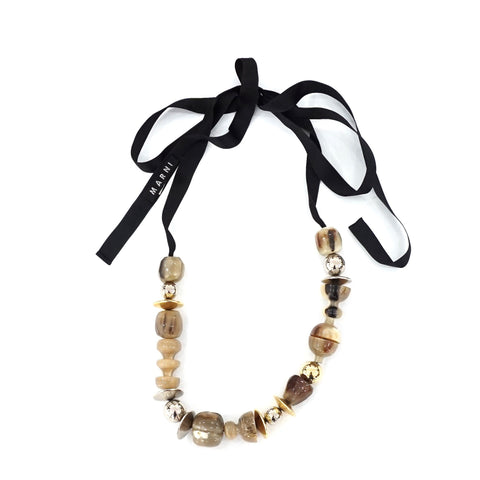 Marni Resin Beaded Necklace
