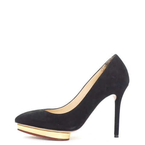 Charlotte Olympia Debby Black Pumps 35.5