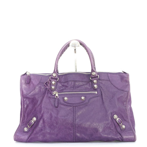 Balenciaga City Purple SHW