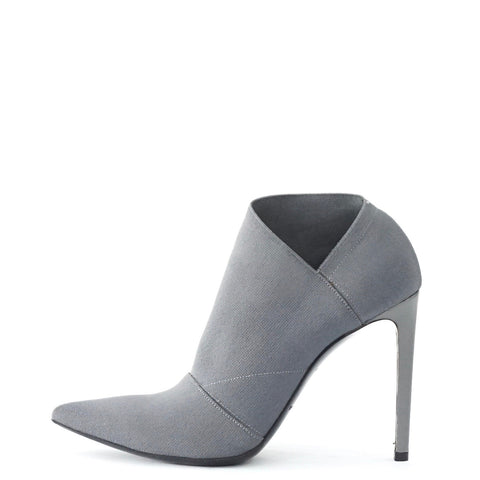 Balenciaga Grey Pointy Ankle Boots 36