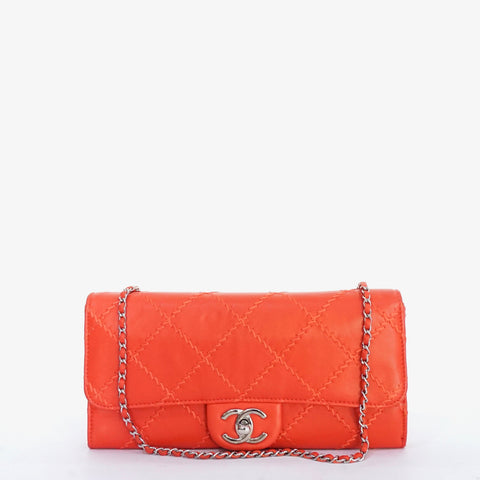 Chanel Coral Shoulder Flapbag SHW