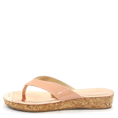 Jimmy Choo Nude Sandals 37.5