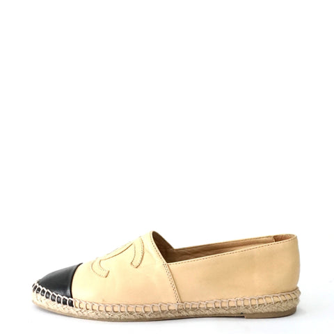 Chanel Leather Espadrilles 36
