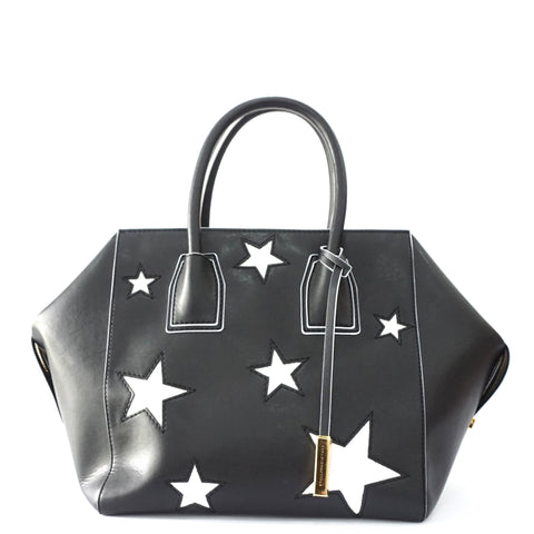 Stella Mccartney Black Tote with Glitter Stars