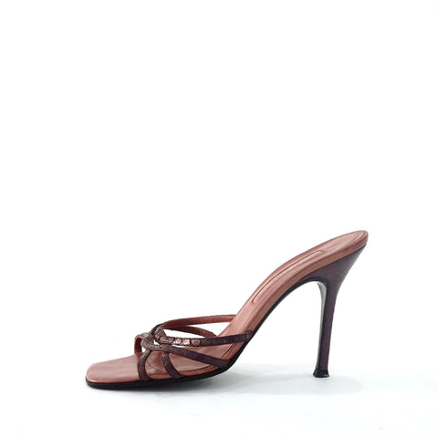 Sergio Rossi Purple Sandals 39