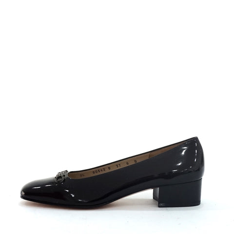 Salvatore Ferragamo Black Shoes 37
