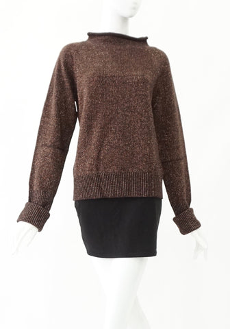 BCBG Maxazria Brown Sweater  L