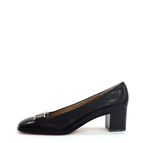Salvatore Ferragamo Black Shoes 8.5