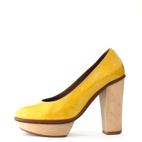 Marni Yellow Pump Shoes 35