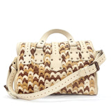 Mulberry Beige Leather Patchwork Shoulder bag