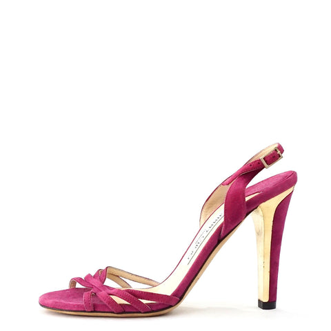 Jimmy Choo Fuschia Sandals 36