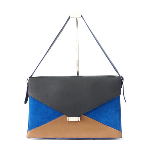 Celine Diamond Blue-Brown-Black Bag