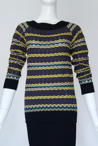 Missoni Sweater Top (Size M)