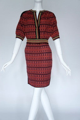 Missoni V-neck Dress (Size M)