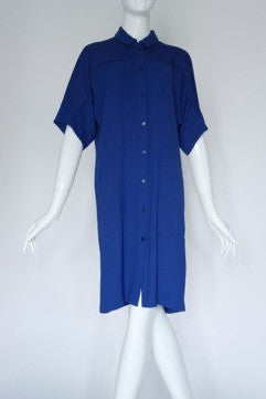 Lanvin en Bleu Blue dress