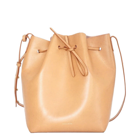 Mansur Gavriel Bucket Bag Cammello Large