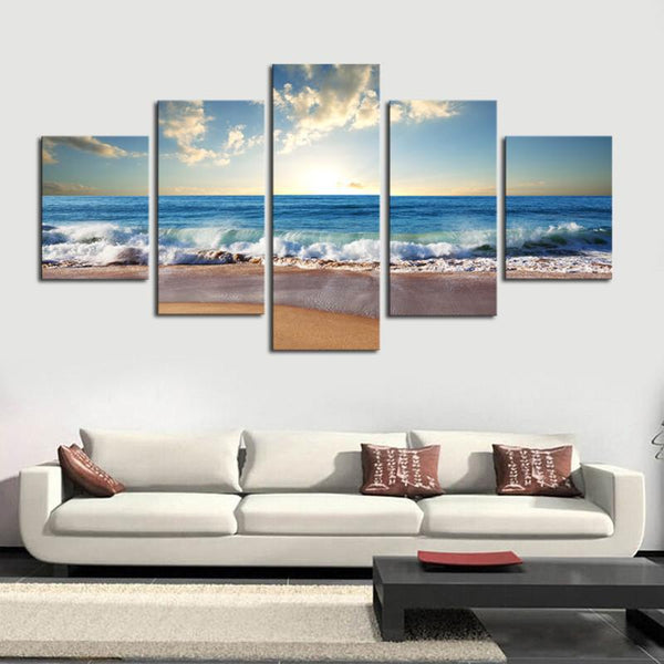 5 Pieces Canvas Combination Unframed