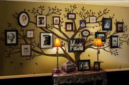 family photo display wall decal