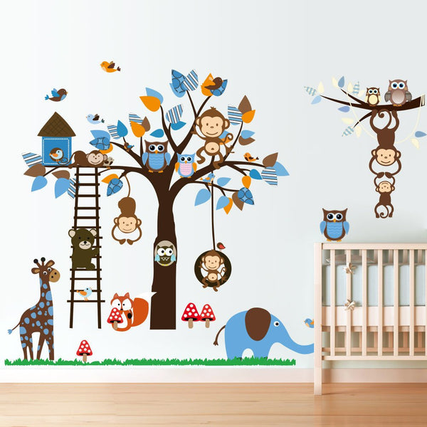 Jungle Decals animal wall decal