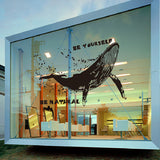 Whale Wall Decal - WallDecal
