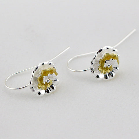 Little Flower Silver Earrings