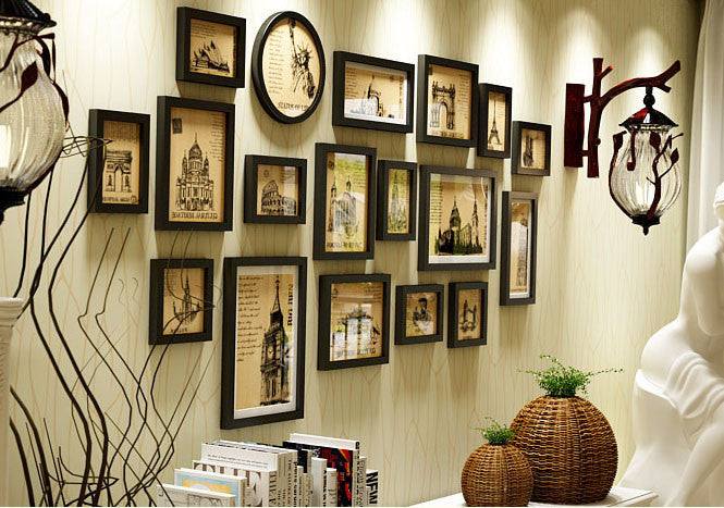 Personalized Photo Frame Set - WallDecal