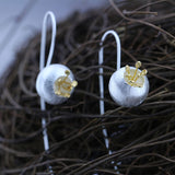 Lantern Silver Earrings