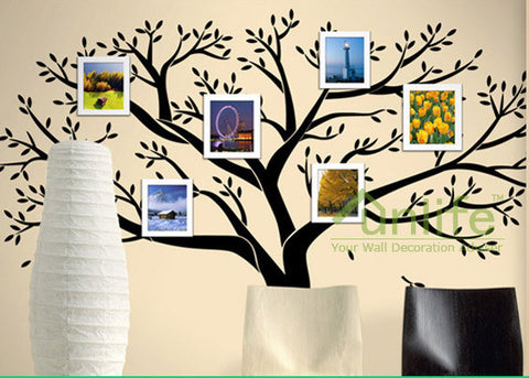 Family Tree Wall Decal - Photo frame tree Decal - Family Tree Wall ...