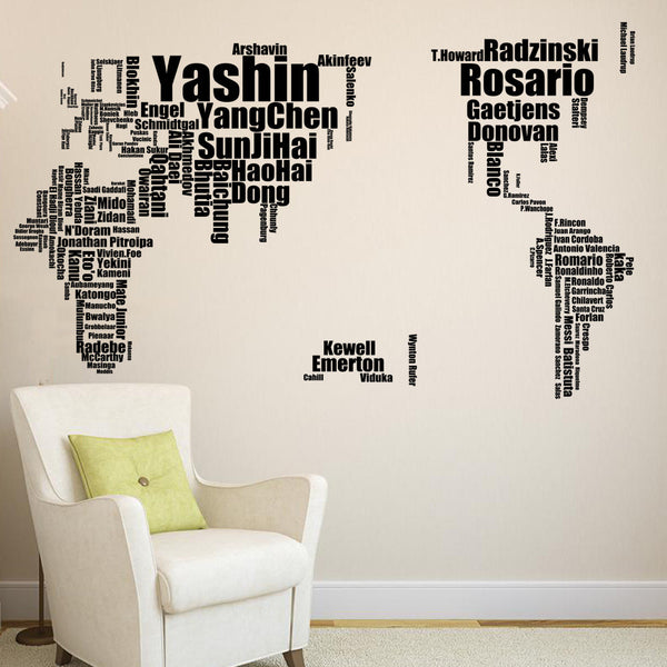 Sports wall decal football wall decor - WallDecal