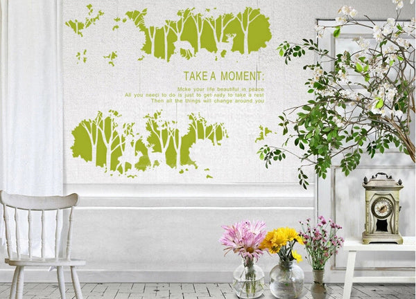 Art Wall Decals Wall Stickers -Forest Art Wall Decal for Home and Nursery - WallDecal