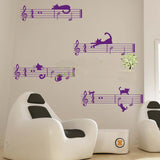 Music Wall decal wall decor - WallDecal