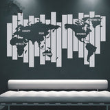 World Map Wall Decals - WallDecal