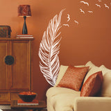 Art Feather Wall Decal-Unique Design