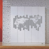 Map World  Wall Decal - WallDecal