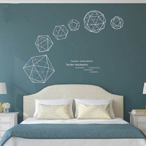 Art Geometry Wall Decals   WallDecal