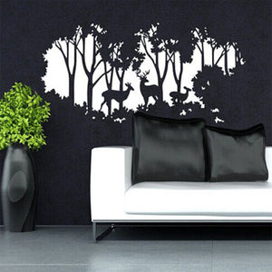 Forest Deers art nursery wall decal - WallDecal