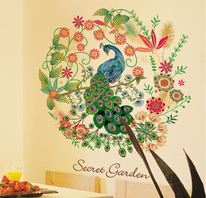 PEACOCK wall decal - WallDecal