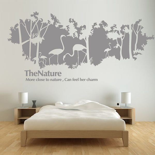 Phoenicopterus Wall decals - WallDecal