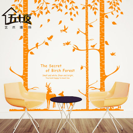 Deer wall decal - WallDecal