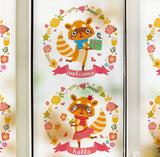 Raccoon wall decals - WallDecal