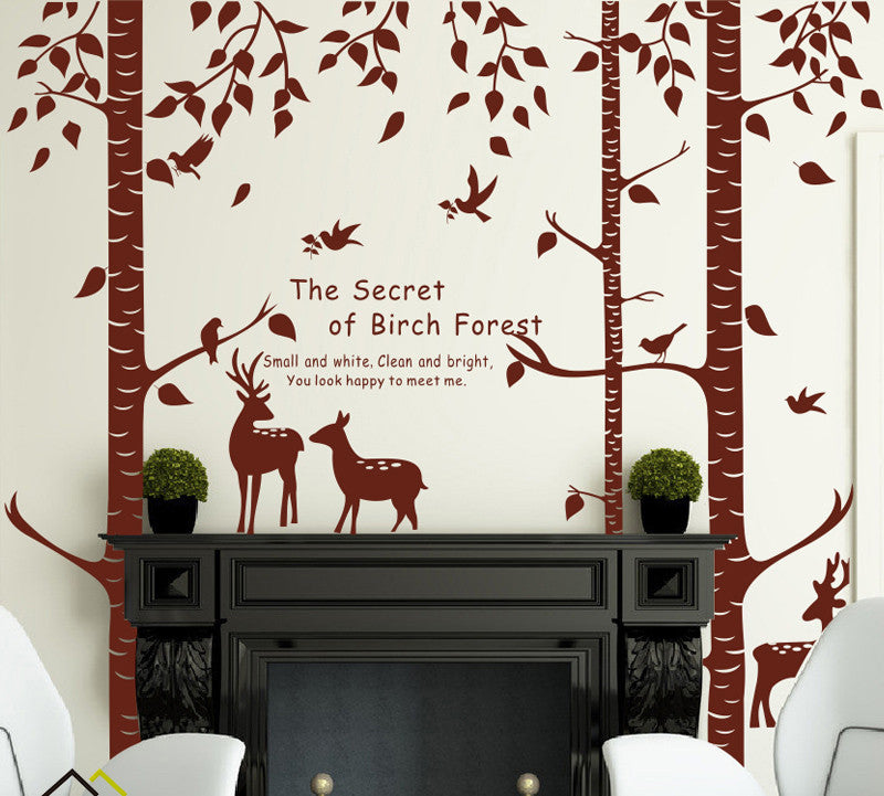 Deer Wall Decal   WallDecal