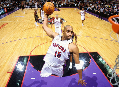 "Vince Carter Basketball Star Fabric poster 32"" x 24"" 17"" x 13"" --03"