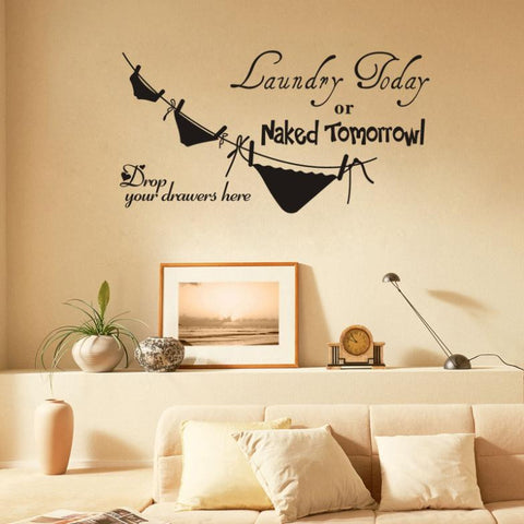 2015 Hot Sale New Tomorrow Toilet Paper Can Remove Background Wall Stickers