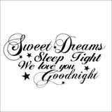 2014 Hot Sale Sweet Dreams The Living Room Bedroom Wall Stickers Wholesale Can Remove Background