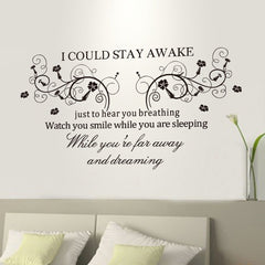 Quotes Wall Sticker & Decal